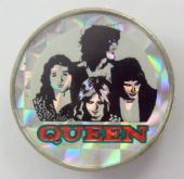 Queen - 'Group' Prismatic Crystal Badge